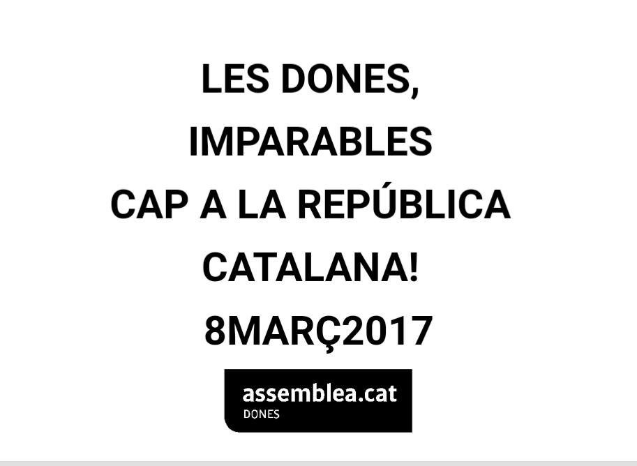 Les Dones, imparables cap a la República Catalana